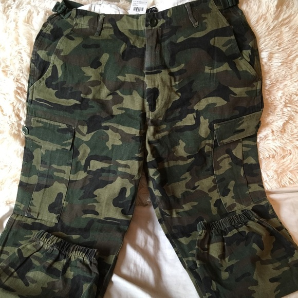 c6da5e420dae2 Fashion Nova Pants | High Waisted Camo On Trend Street Style | Poshmark